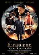 Kingsman: The Secret Service - Dutch Movie Poster (xs thumbnail)