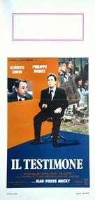 Le témoin - Italian Movie Poster (xs thumbnail)