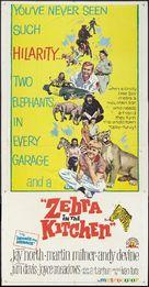 Zebra in the Kitchen - Movie Poster (xs thumbnail)