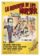 Munster, Go Home - Spanish Movie Poster (xs thumbnail)