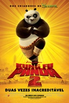 Kung Fu Panda 2 - Brazilian Movie Poster (xs thumbnail)