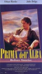 Before Sunrise - Italian VHS movie cover (xs thumbnail)