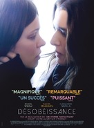 Disobedience - French Movie Poster (xs thumbnail)