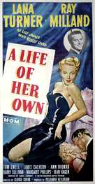 A Life of Her Own - Movie Poster (xs thumbnail)