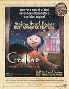 Coraline - For your consideration movie poster (xs thumbnail)