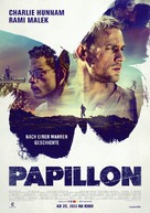 Papillon - German Movie Poster (xs thumbnail)