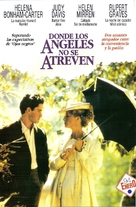 Where Angels Fear to Tread - Argentinian DVD cover (xs thumbnail)