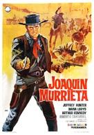 Joaquín Murrieta - Spanish Movie Poster (xs thumbnail)