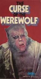The Curse of the Werewolf - VHS movie cover (xs thumbnail)
