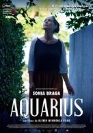 Aquarius - Portuguese Movie Poster (xs thumbnail)