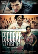 Escobar: Paradise Lost - German Movie Poster (xs thumbnail)