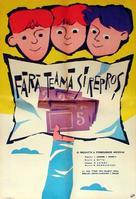 Bez strakha i upryoka - Romanian Movie Poster (xs thumbnail)