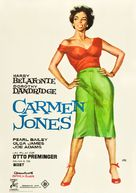 Carmen Jones - Spanish Movie Poster (xs thumbnail)