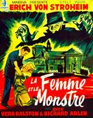 The Lady and the Monster - Belgian Movie Poster (xs thumbnail)