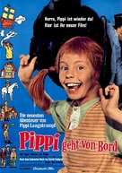 Här kommer Pippi Långstrump - German Movie Poster (xs thumbnail)