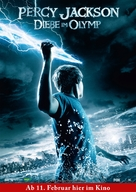 Percy Jackson & the Olympians: The Lightning Thief - German Movie Poster (xs thumbnail)