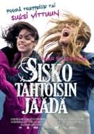 Sisko tahtoisin jäädä - Finnish Movie Poster (xs thumbnail)