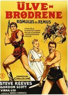 Romolo e Remo - Danish Movie Poster (xs thumbnail)