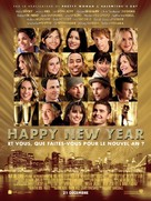 New Year's Eve - French Movie Poster (xs thumbnail)