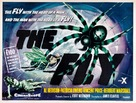 The Fly - British Theatrical movie poster (xs thumbnail)