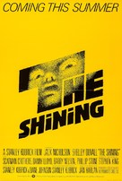 The Shining - British Advance movie poster (xs thumbnail)