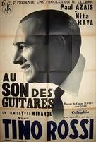 Au son des guitares - French Movie Poster (xs thumbnail)