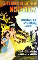 The Secret of Treasure Island - Spanish Movie Poster (xs thumbnail)