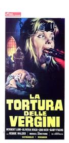Hexen bis aufs Blut gequält - Italian Movie Poster (xs thumbnail)