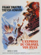 Von Ryan's Express - French Movie Poster (xs thumbnail)