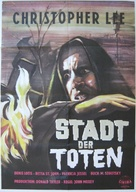 The City of the Dead - German Movie Poster (xs thumbnail)