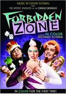 Forbidden Zone - Movie Cover (xs thumbnail)
