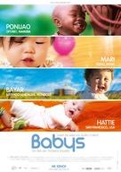 Babies - German Movie Poster (xs thumbnail)