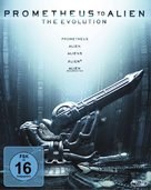 Prometheus - German Blu-Ray movie cover (xs thumbnail)