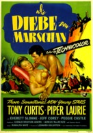 The Prince Who Was a Thief - German Movie Poster (xs thumbnail)