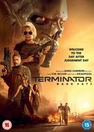 Terminator: Dark Fate - British DVD movie cover (xs thumbnail)