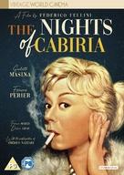 Le notti di Cabiria - British DVD movie cover (xs thumbnail)