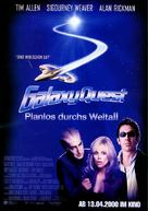 Galaxy Quest - German Movie Poster (xs thumbnail)