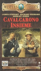 Two Rode Together - Italian VHS movie cover (xs thumbnail)