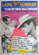 The Long, Hot Summer - Swedish Movie Poster (xs thumbnail)