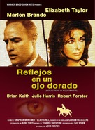 Reflections in a Golden Eye - Spanish Movie Poster (xs thumbnail)