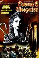Caesar and Cleopatra - French Movie Poster (xs thumbnail)