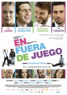 En fuera de juego - Spanish Movie Poster (xs thumbnail)