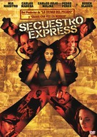 Secuestro Express - Argentinian DVD cover (xs thumbnail)