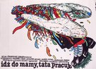 Va voir maman, papa travaille - Polish Movie Poster (xs thumbnail)