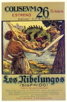 Die Nibelungen: Siegfried - Spanish Movie Poster (xs thumbnail)