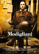 Modigliani - Spanish Movie Poster (xs thumbnail)