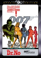 Dr. No - DVD movie cover (xs thumbnail)