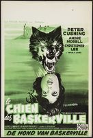 The Hound of the Baskervilles - Belgian Movie Poster (xs thumbnail)
