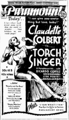 Torch Singer - Movie Poster (xs thumbnail)