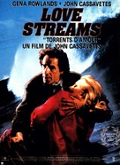 Love Streams - French Movie Poster (xs thumbnail)